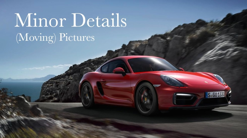 Island Detail And Color | Porsche Moving Pictures