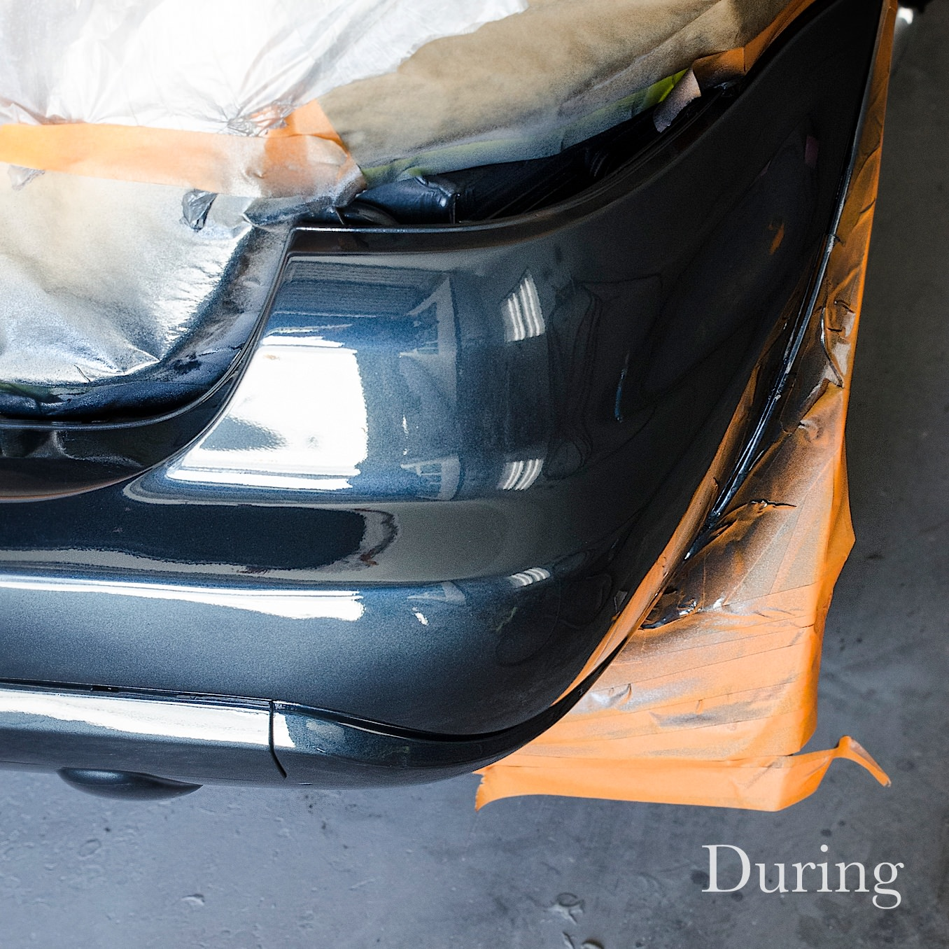 Before, During, After, Bumper Repair 3