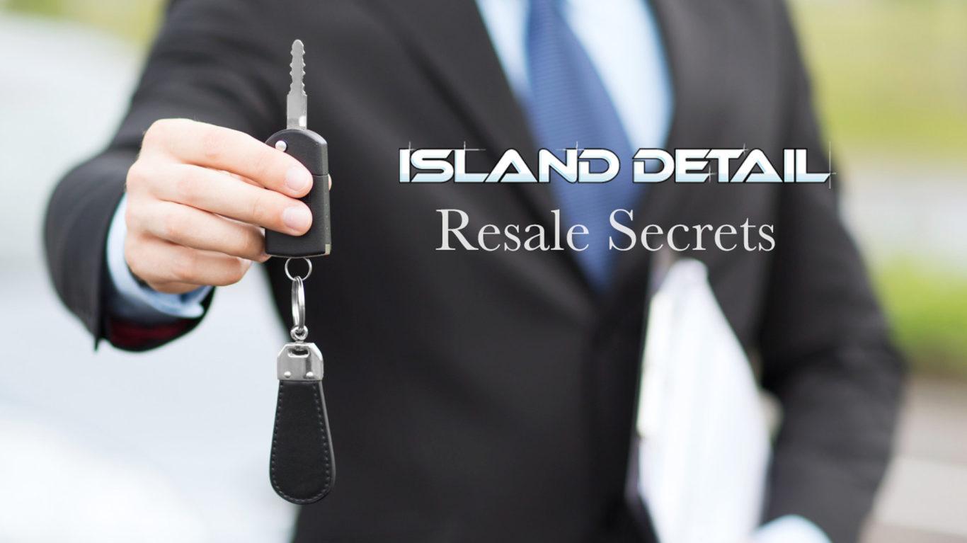 Minor Details: Car Resale Secrets