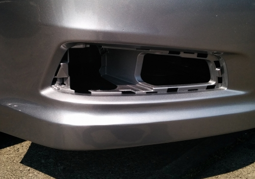 Before And After: Bumper Repair