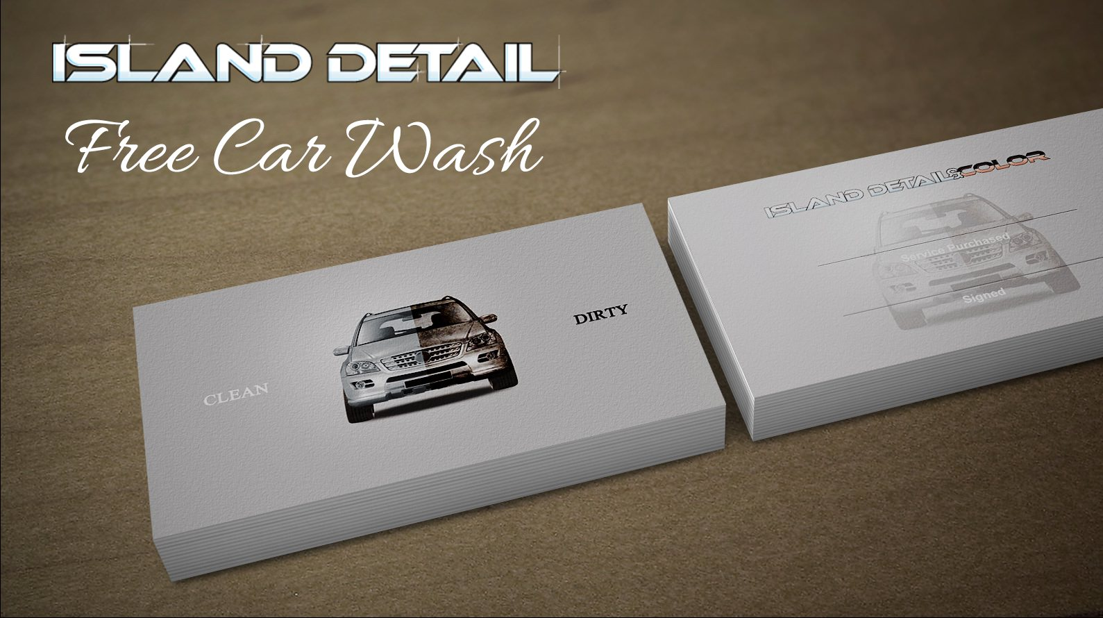Free $50 Quick Clean With Every Complete Detail