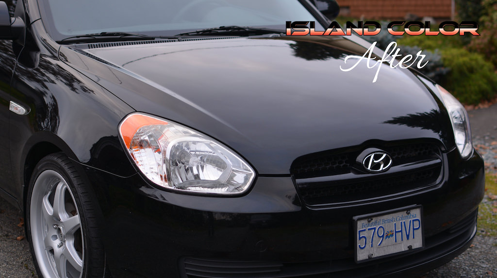 Before & After: Hood Respraying