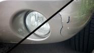 Bumper Repair Before & After
