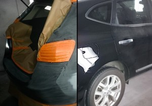 Before & After: Rear Quarter