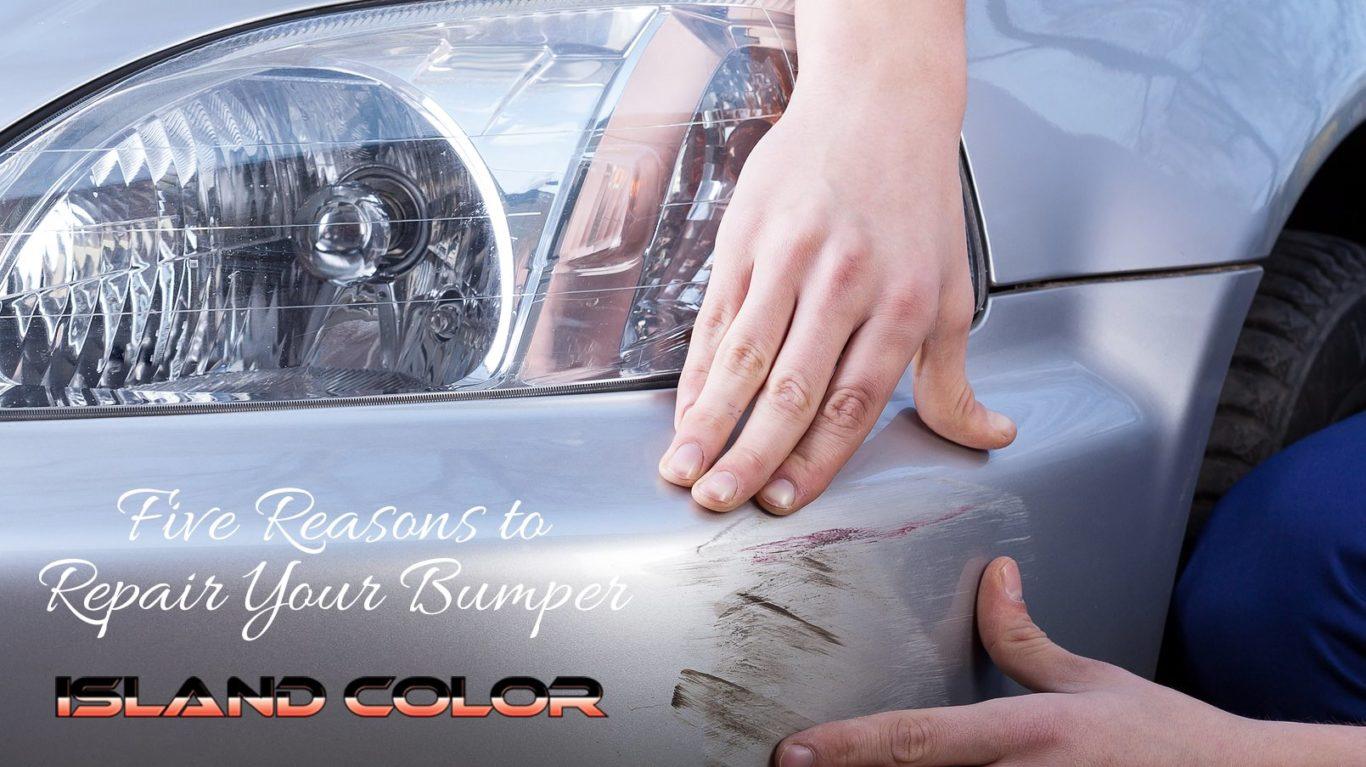 Five Reasons To Repair Your Bumper