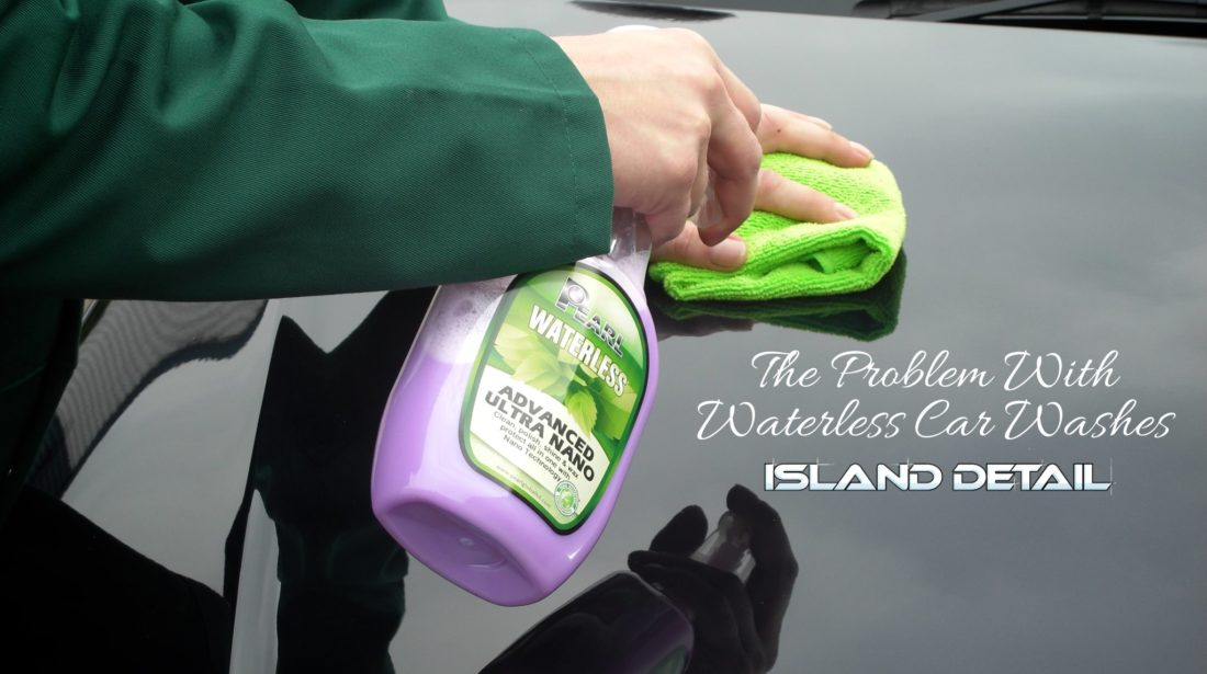 The Problem With Waterless Car Washes