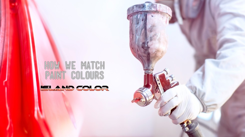 How We Match Paint Colours For Repairs