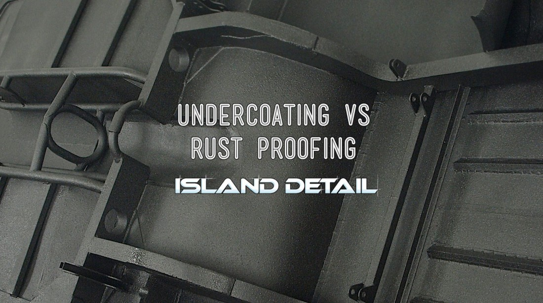 Undercoating VS Rust Proofing