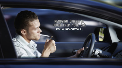 Remove Cigarette Smell From A Car
