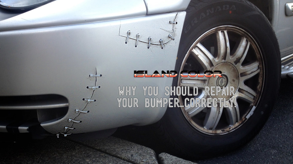 Why You Should Repair Your Bumper Correctly