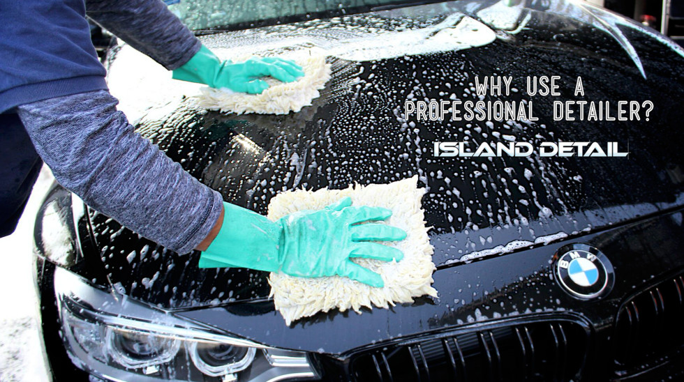 Why Use A Professional Detailer