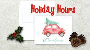 Island Detail Holiday Hours