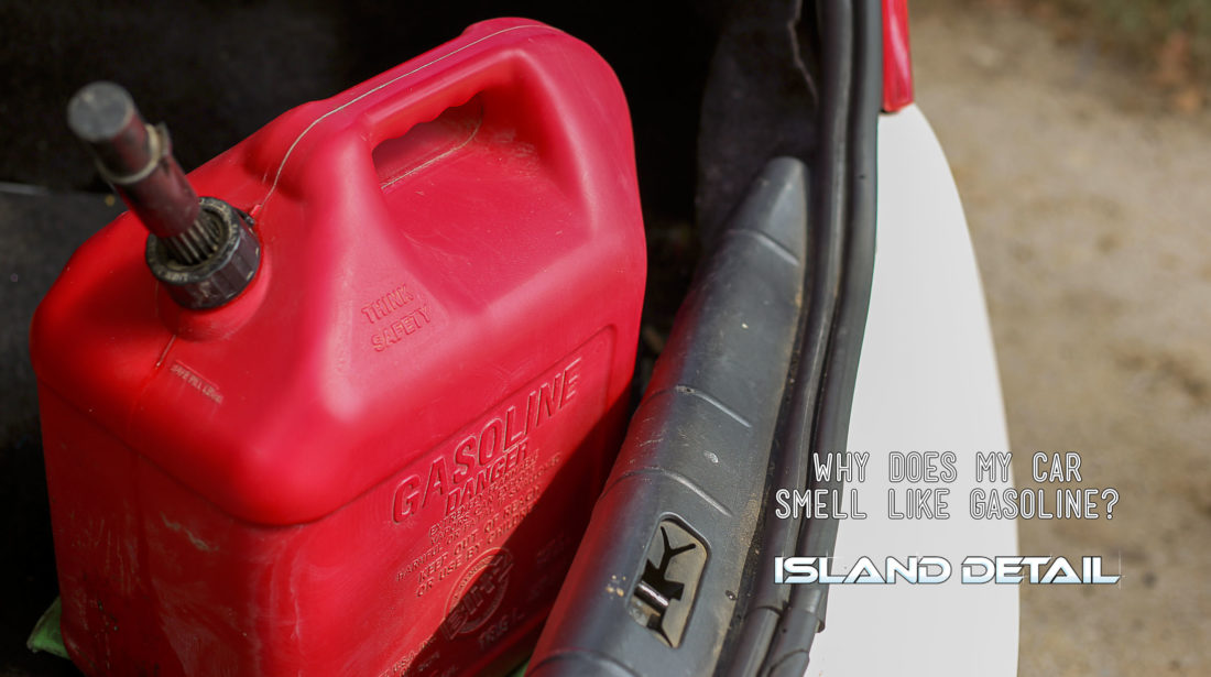 Why Does My Car Smell Like Gas?