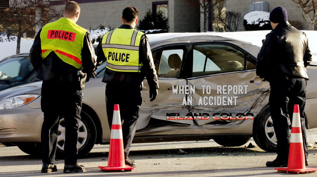 When To Report An Accident
