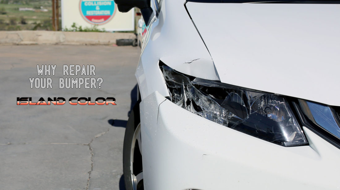 Why Repair Your Bumper?