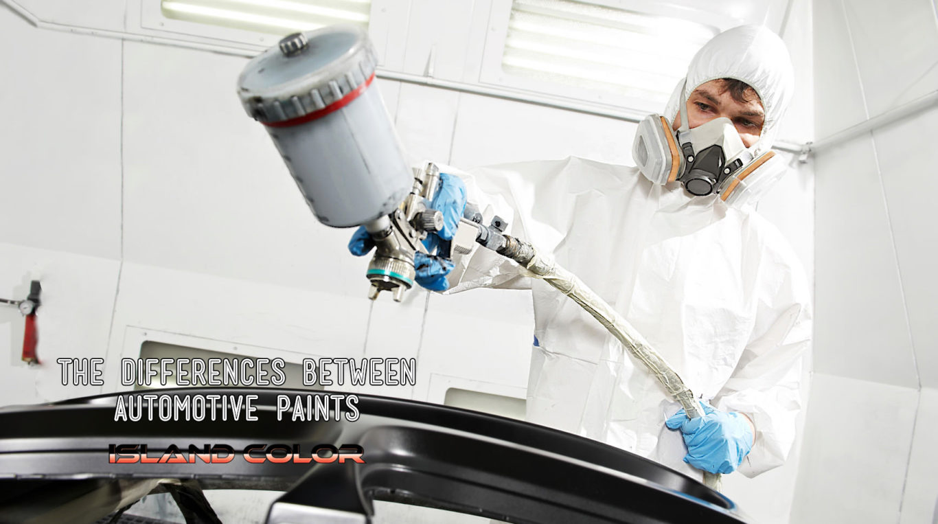 The Difference Between Automotive Paints