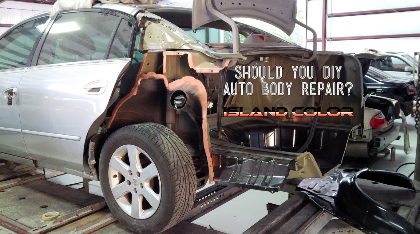 Should You DIY Auto Body Repair?