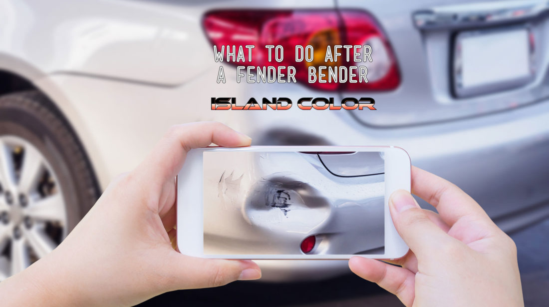 What To Do After A Fender Bender