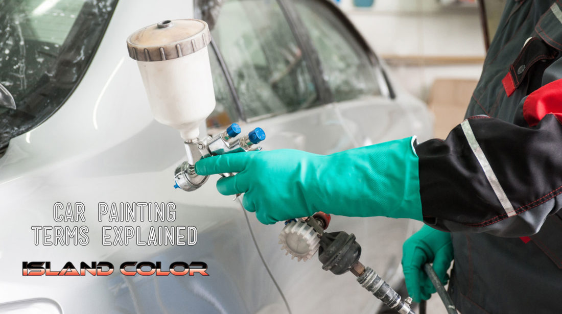 Car Painting Terms Explained