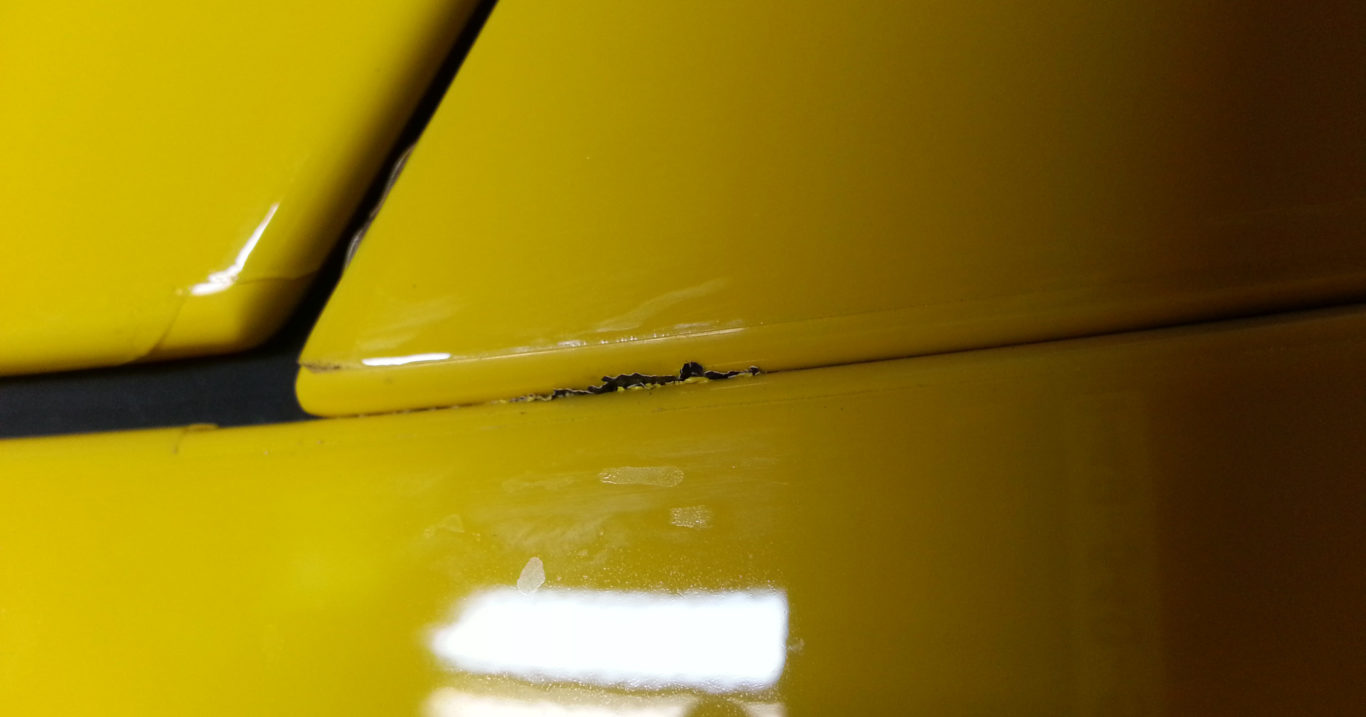 This Is Why Your Car's Paint Is Chipping