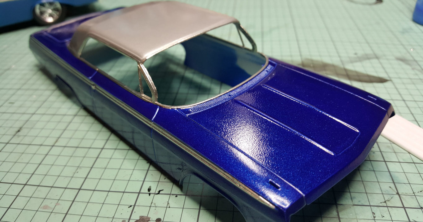 Roughly Textured Car Paint